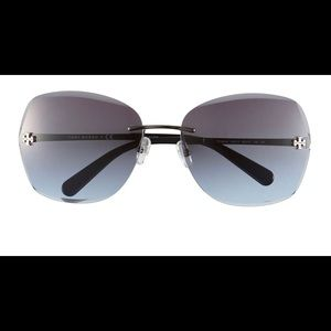 Tory Burch Rimless Sunglasses